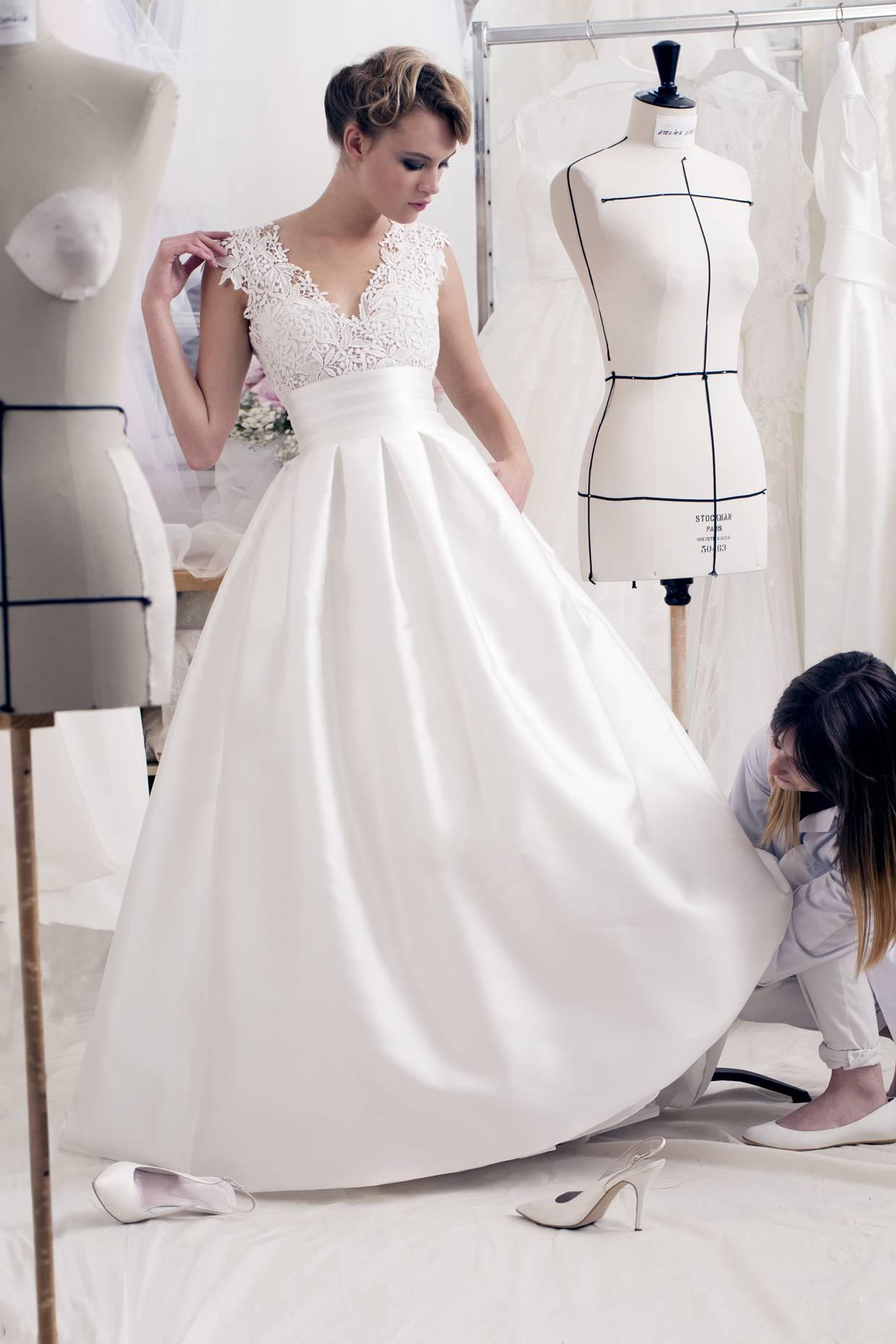 Robe de mariée, ATELIER EMELIA, Mary Marié