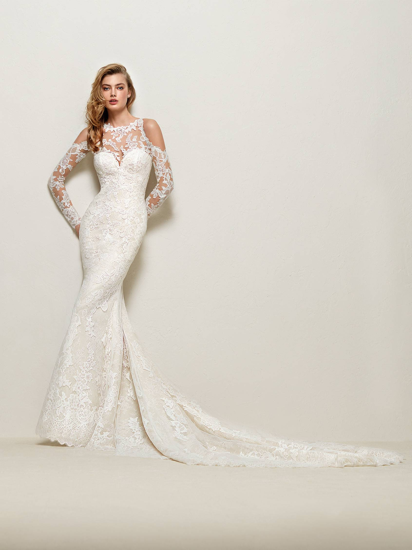 Robes De Mariee Pronovias Mary Mariees Boheme Chic A